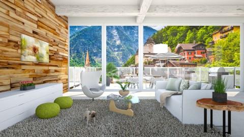 Nature retreat - Modern - Living room - by bgref