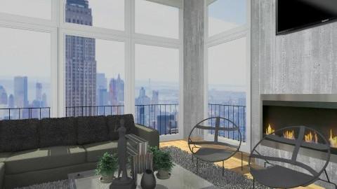 Livingroom012 - Modern - Living room - by Ivana J