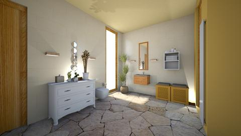 mediterranean bath - Bathroom - by anilo