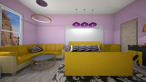 Haring Oak - Modern - Bedroom - by bleeding star