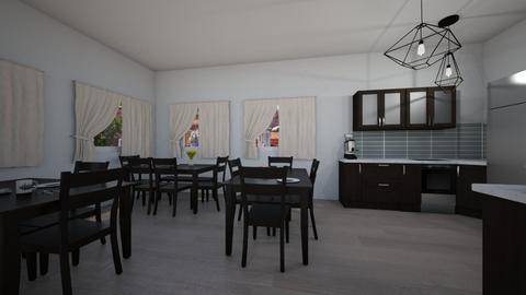 Staff Lounge 3 - Dining room - by clairelist07