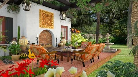 Design 187 Arizona Patio - Garden - by Daisy320