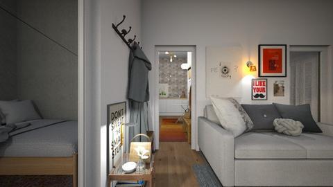 Casa321Hallway - Modern - by nickynunes
