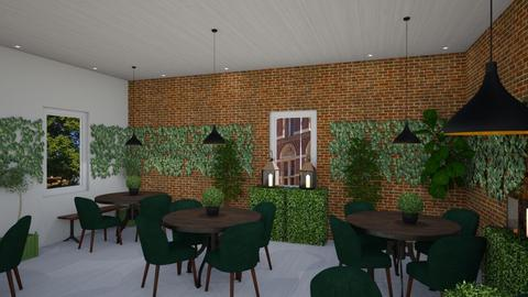 urban jungle pub - Rustic - Dining room - by Cristiane Lichotto