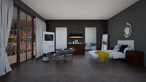 jj - Modern - Bedroom - by kellynazha