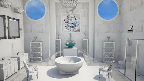 Master Bathroom - Modern - Bathroom - by DiamondJ569