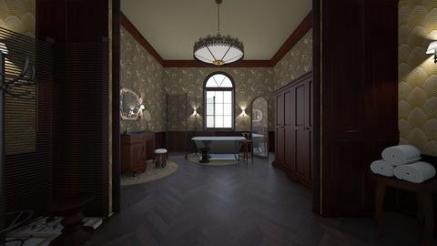 Retro Bathroom - Vintage - Bathroom - by kristianvalchev