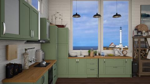 nautical kitchen - Kitchen - by Sarah Anjuli
