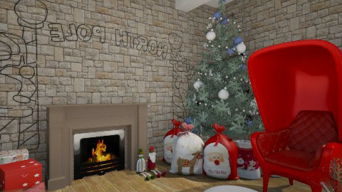Santas house - by Anchy0712