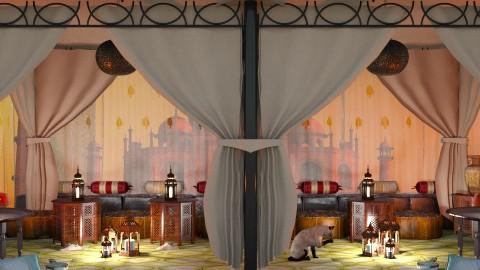 Moroccan Cafe - by LaModeCeleste