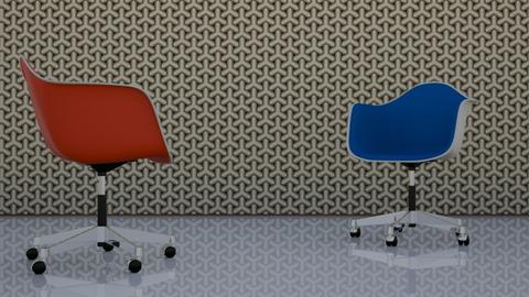 eames - Vintage - Office - by HenkRetro1960