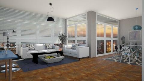 Apartamento - Modern - Living room - by nathaly_cardoso