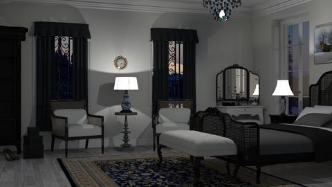 M_Silver night - Eclectic - Bedroom - by milyca8