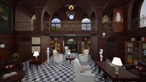 Library 2 - by ArtHousedeco