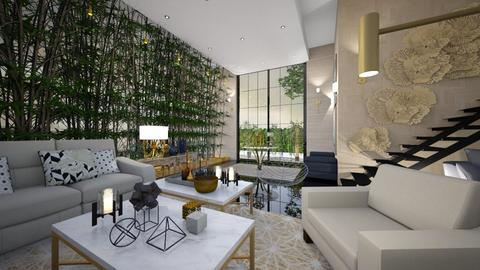 bamboo - Living room - by ana111