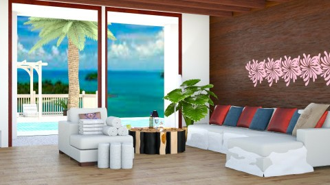 Fairy T a l e Beach - Living room - by Taxi girl