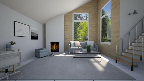 scandinavian simplicity - by MyRooms1300