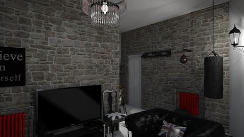 My Living room 3 - Vintage - Living room - by kostis kkkk