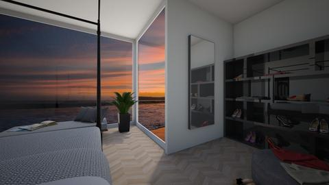 By the ocean - Bedroom - by Vilmainkeri