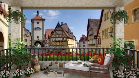 Rothenburg View - Garden - by lydiaenderlebell
