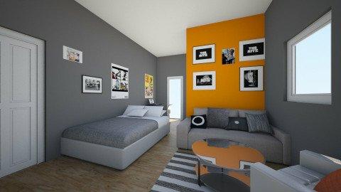 Krystian - Bedroom - by Weronika Gunther