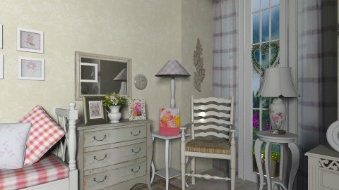 Anna - Vintage - Living room - by milyca8
