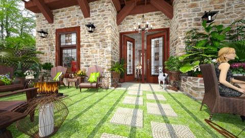 Terrace Lanai - Garden - by Lackew