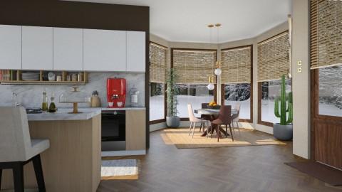 Winter - Modern - Kitchen - by katarina_petakovi