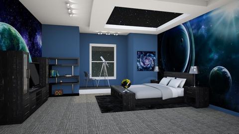 Teenage Bedroom 2 - Bedroom - by Tzed Design