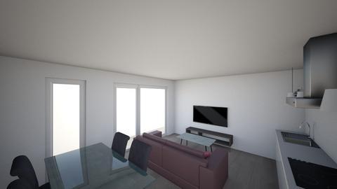 Efstaleiti 23 - Living room - by arisig