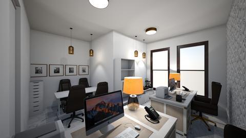 escritorio - Rustic - Office - by kelly lucena