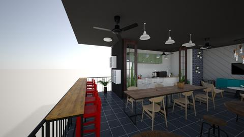 XCLUB SMS BSD WINDOW SLID - Dining room - by rastkha