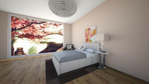 Cute Bedroom - Bedroom - by Julieisawesome
