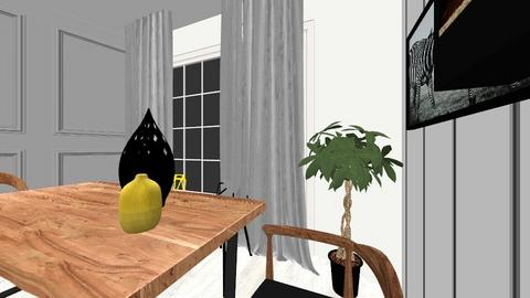 Parter dormitor 2 - Living room - by Irinalazia