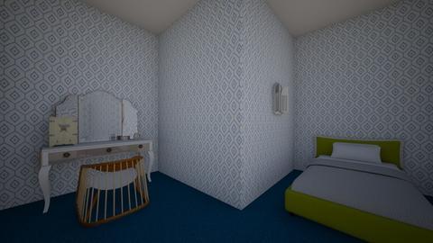 My bedroom - Bedroom - by Deyana Cvetkova