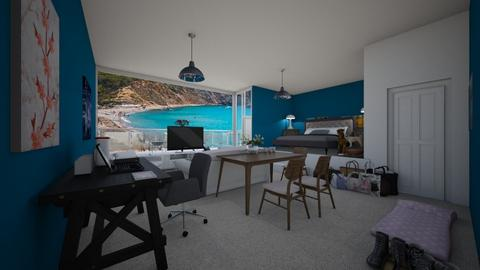 Ibiza Hotel Room  - Modern - Bedroom - by kebab123