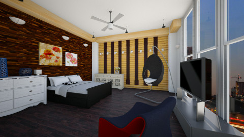 Stylish Bedroom - Bedroom - by Maisarah Mimo
