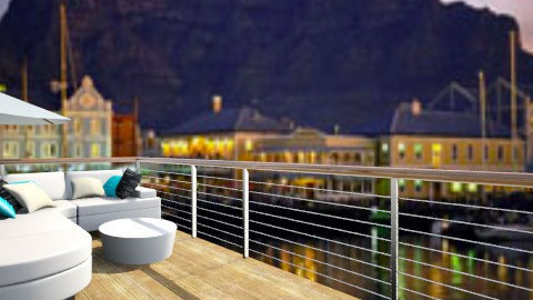 tactile bedroom balcony - Minimal - by Nhezi