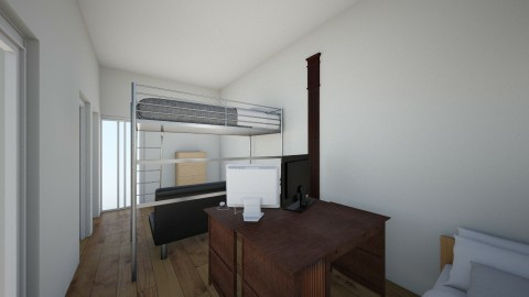 Evangel Dorm setup B - Living room - by Mysteroo