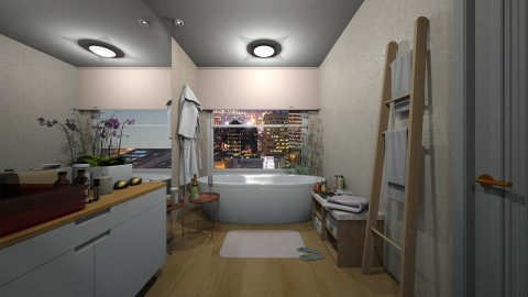 Banheiro master - Feminine - Bathroom - by marjinha1
