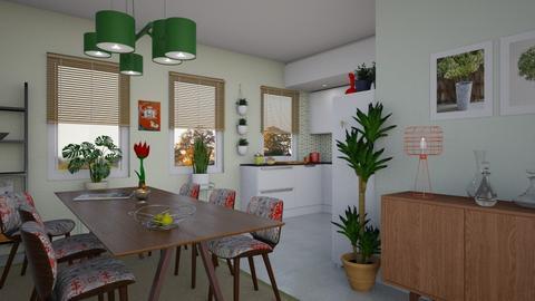 MidC Mod Kitchen - Kitchen - by JM Krab