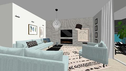2597 Anat3 - Modern - Living room - by anatklin
