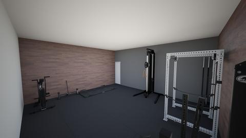 Garage Gym - by rogue_893cea63110d8678e1540b116adf7