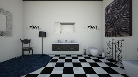 the modern vintage side 1 - Vintage - Bathroom - by theaphrodite