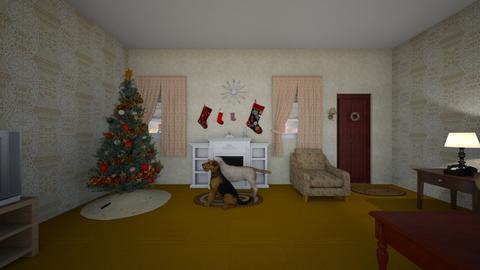 Xmas Home  - Living room - by WestVirginiaRebel