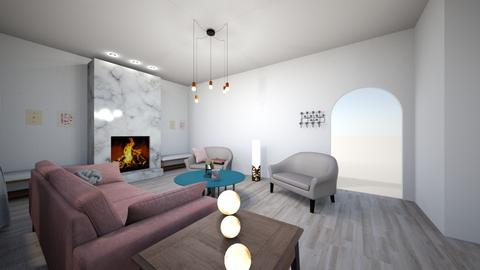 Romantic Vibe - Living room - by Sarahsilvaj