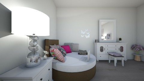 GIRL BEDROOM - Kids room - by dak123