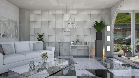 Geometric Livingroom - Modern - Living room - by Sue Bonstra