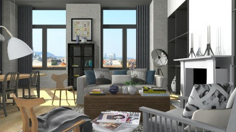 Homebyyoo - Living room - by XValidze
