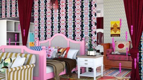 Bohem bedroom - by Nari31